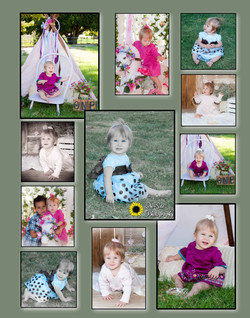 cutest childrens birthday photos, first
