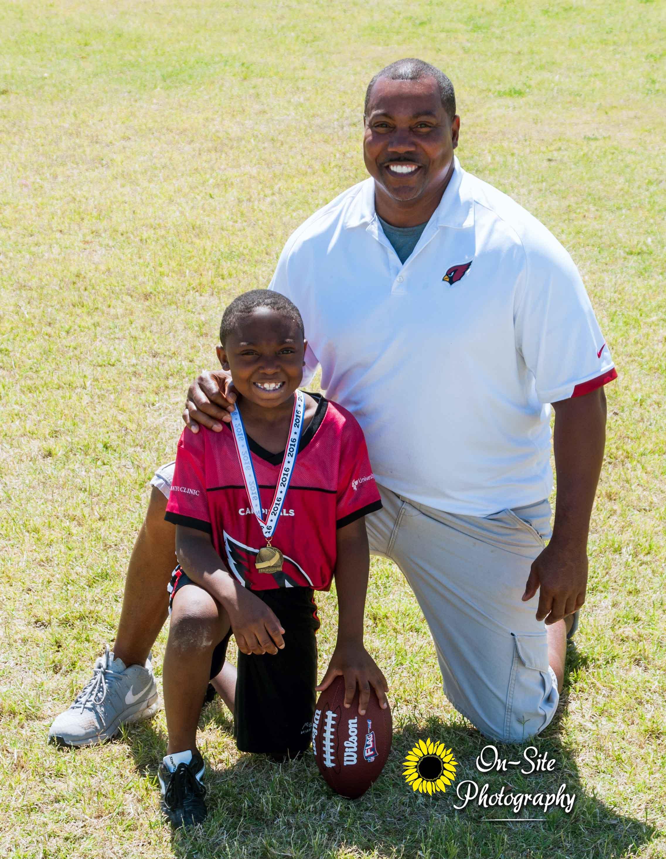 3x5 Coach Photo On-Site Photography Buckeye, Az Sports Photographer