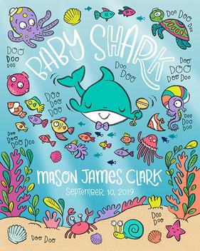 BABY BOY SHARK DOO DOO DOO