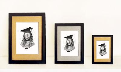 chloe aisha, gilded portraits, portrait commission