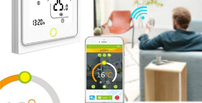 Control your house with latest Smart Thermostat