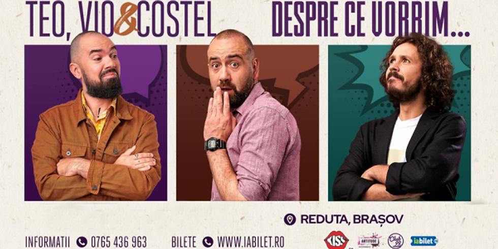 Stand Up Comedy Show cu Teo, Vio si Costel