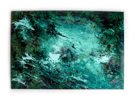 Fluid Acrylic Painting