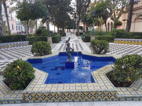 Beautiful Park in Cadiz