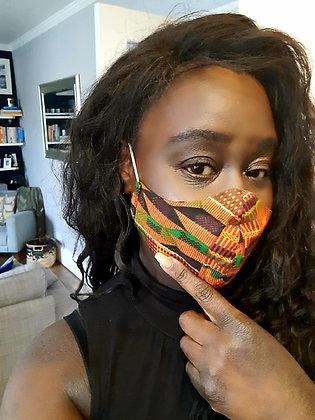 Kente Facemasks
