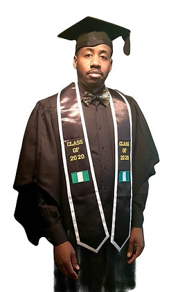Black Pride Graduation stole