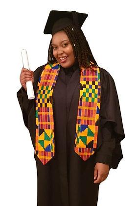 Kente Graduation Stole