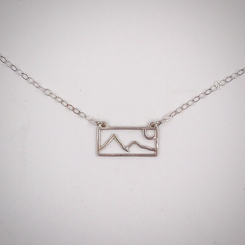 """My Mountain"" Horizontal Pendant"