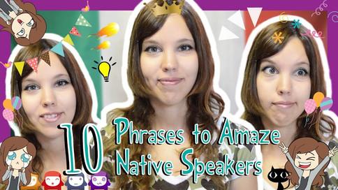 Italian- Phrases to amaze natives