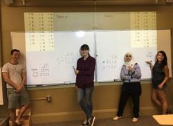 Hebrew class!