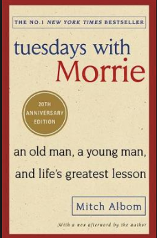 Tuesdays with Morrie book cover image