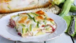 lasagna speck e zucchine