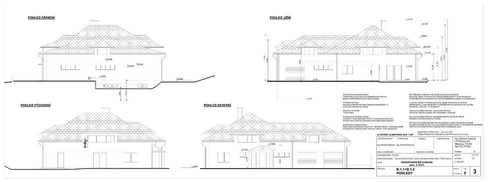 cholina stavební povolení projekt