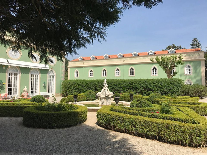 palace in sintra, hotel