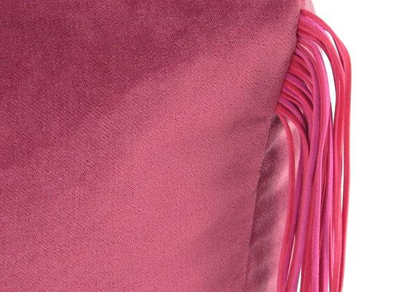 Le pouf à toupet - rose-rose