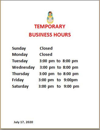 temporary hours july 22.JPG