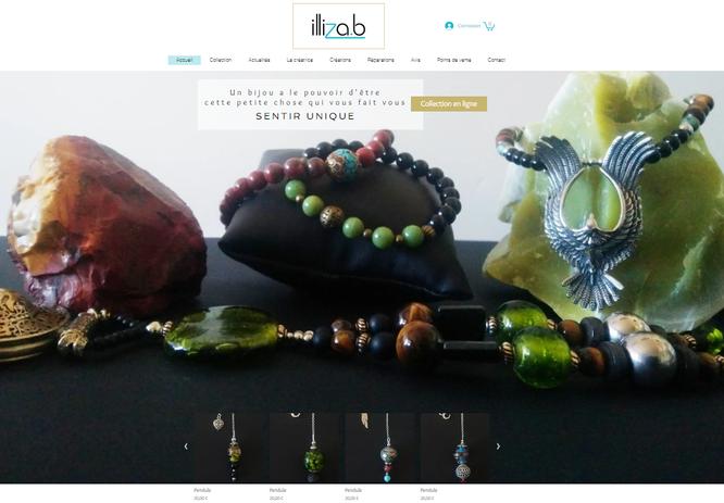 illiza.b Création bijoux