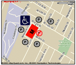 Map of Parking Areas