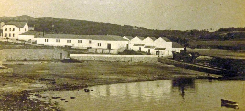 Fábrica en 1884