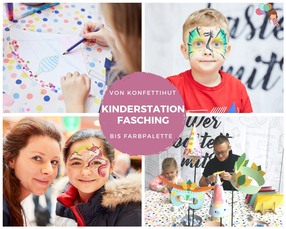 Fasching in WIEN MITTE The Mall - Kinderbetreuung bei Firmenevents