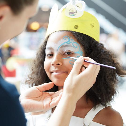 Kinderschminken Firmenveranstaltung