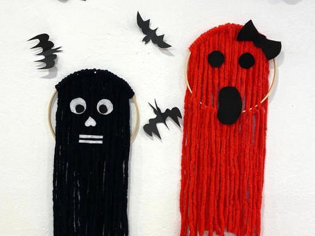 BOO! HALLOWEEN - Gruselig lustiger Bastelspaß aus Wolle und Filz
