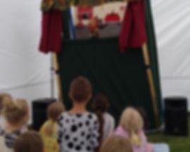 Kasperltheater, Kindergeburtstag