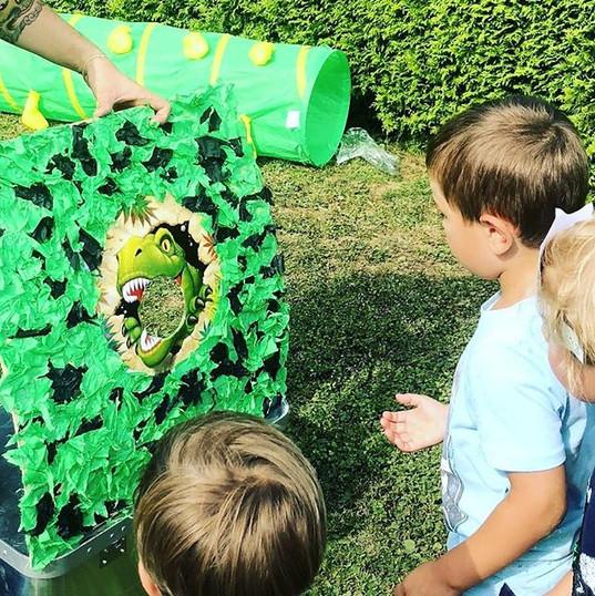 Kindergeburtstag Dinoparty