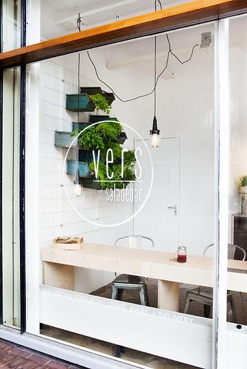 Kevin Veenhuizen Architects / Saladebar Vers Hilversum / gevelreclame