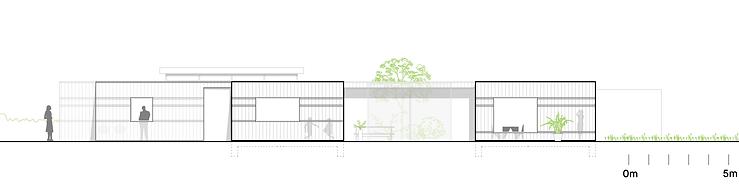 Kevin Veenhuizen Architects / villa Driebergen / gevelaanzicht