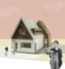 Kevin Veenhuizen Architects / Verduurzaming en Aanbouw Limmen / Maquette