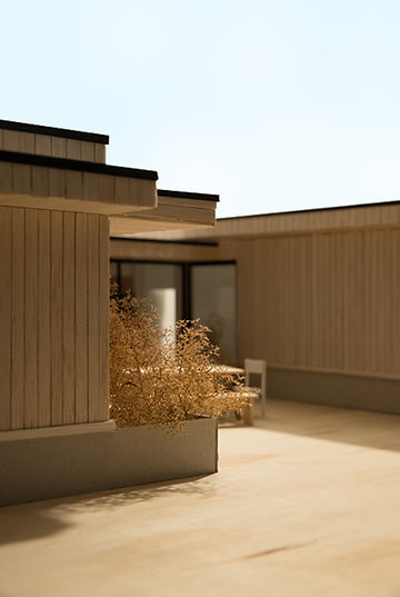 Kevin Veenhuizen Architects / Patio House Netersel / maquette