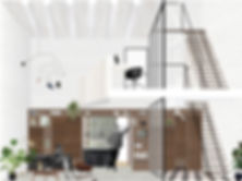 Kevin Veenhuizen Architects / verbouwing Carre van Bloemendaal / interieur met vide