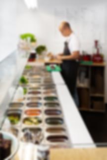 Kevin Veenhuizen Architects / Saladebar Vers Hilversum / bar op maat