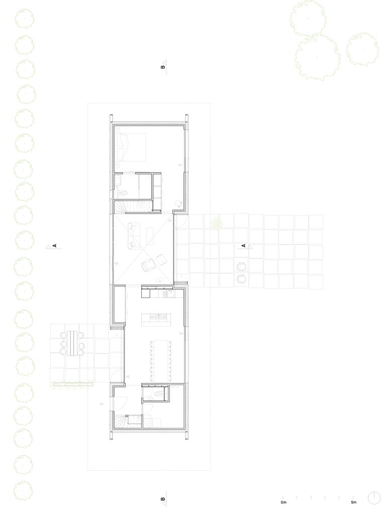 Kevin Veenhuizen Architects / Schuurwoning Spierdijk / plattegrond
