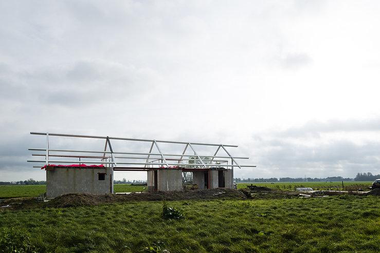 Kevin Veenhuizen Architects / Schuurwoning Spierdijk / villa in open landschap