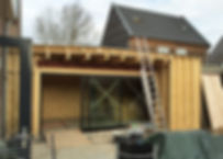Kevin Veenhuizen Architects / aanbouw mindervalide Westervoort / houtbouw