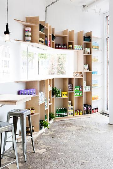 Kevin Veenhuizen Architects / Saladebar Vers Hilversum / kast op maat