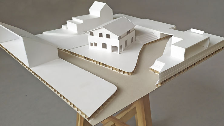 Kevin Veenhuizen Architects / vrijstaande woning Avenhorn / pakhuis aan het water