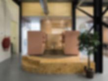 Kevin Veenhuizen Architects / M3 Consultancy / akoestische bank