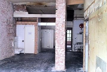 Kevin Veenhuizen Architects / burger bar Burgerlijk Amsterdam / oude situatie
