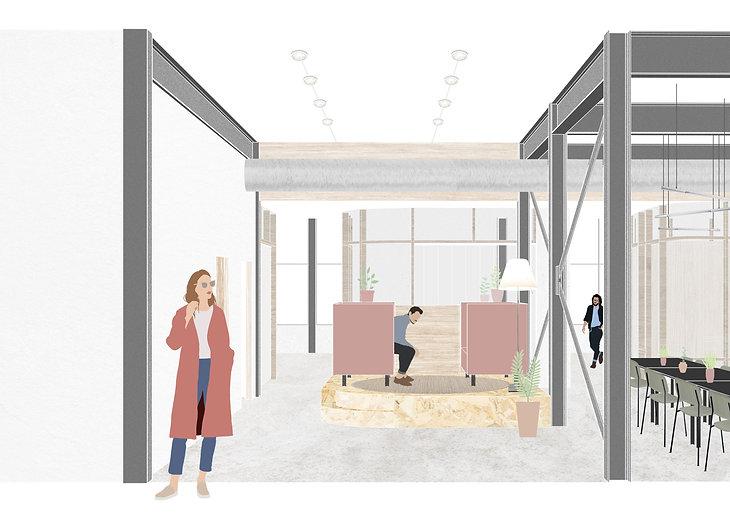Kevin Veenhuizen Architects / M3 Consultancy / visualisatie