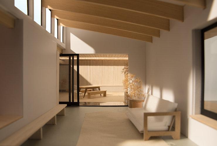 Kevin Veenhuizen Architects / Patio House Netersel / daklichten
