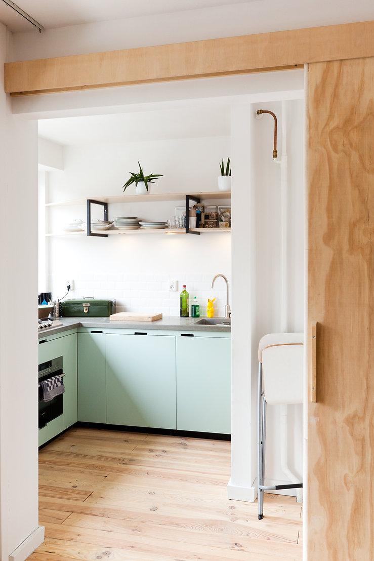 Kevin Veenhuizen Architects / studio verbouwing Amsterdam / keuken op maat
