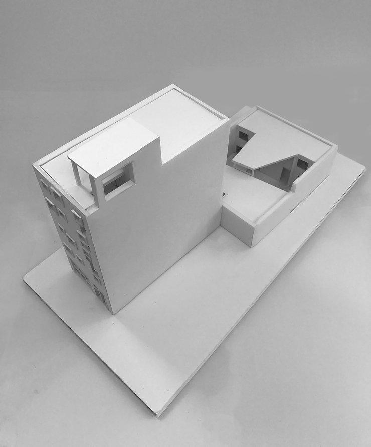 Kevin Veenhuizen Architects / CPO autogarage Amsterdam / maquette