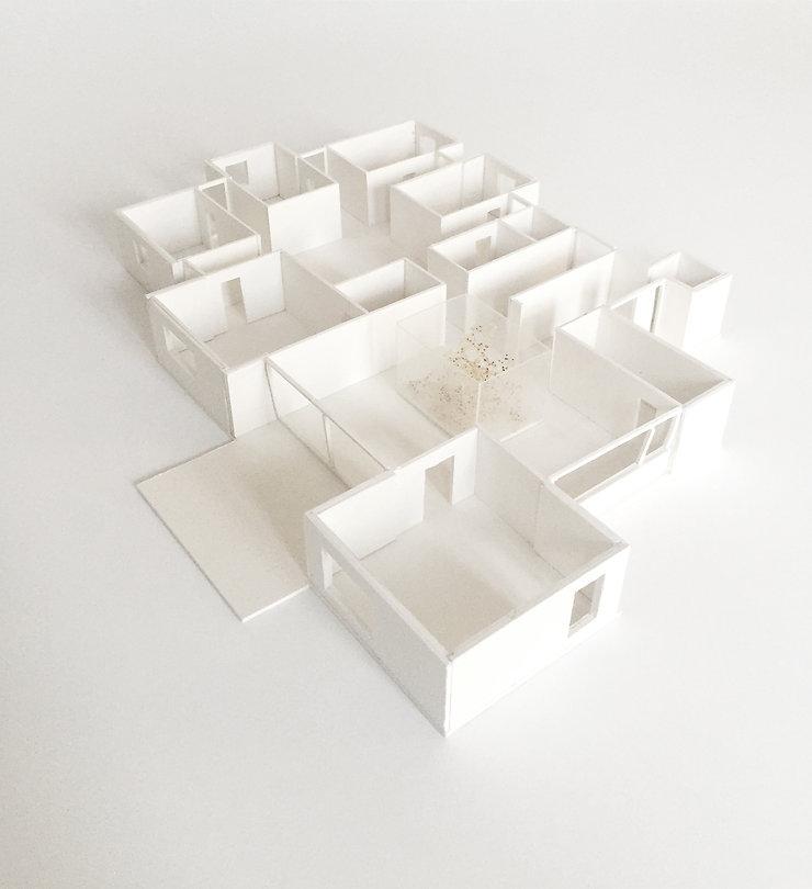 Kevin Veenhuizen Architects / villa Driebergen / maquette