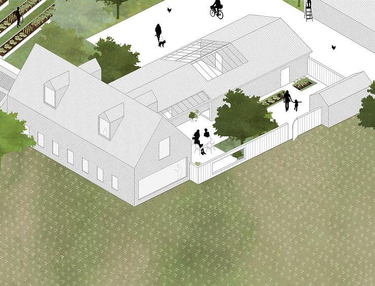 Kevin Veenhuizen Architects / Eco Boerderij Breukelen / woonhuis