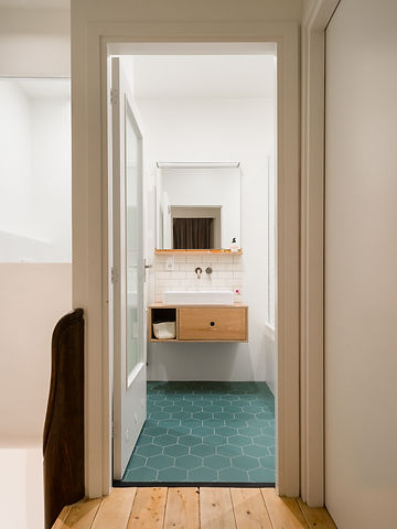 Kevin Veenhuizen Architects / Ensuite verbouwing Amsterdam / badkamer