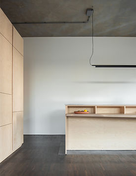 Kevin Veenhuizen Architects / Loft interieur op maat in casco Top_up Amsterdam