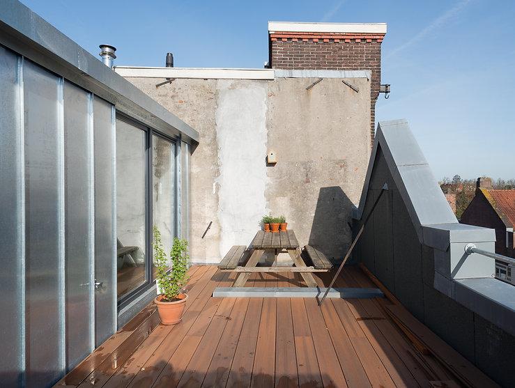 Kevin Veenhuizen Architects / dakopbouw Amsterdam / dakterras